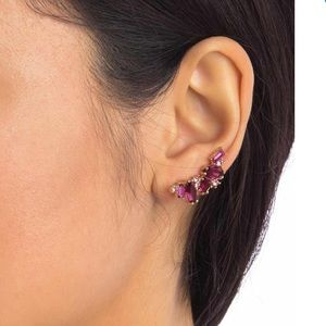 Kate Spade Cluster Crawler Earrings